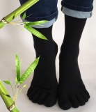 Chaussettes Doigts Bambou
