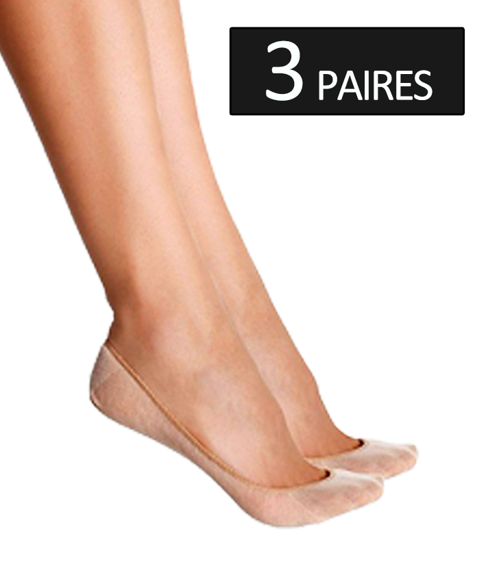 bf3b47f93d9 invisible chaussettes bas beige. Chargement