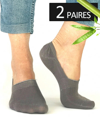 chaussettes invisibles taupe