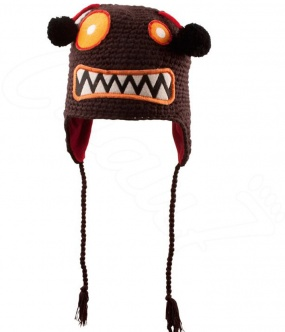 bonnet monster kid monstre gentils doublé polaire