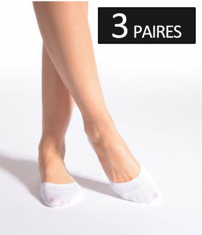 mini chaussette blanches